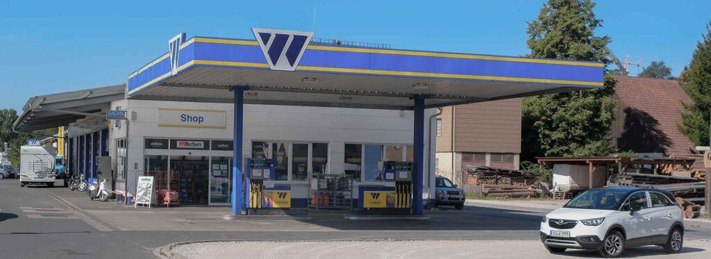 Tankstelle Weber, Großhabersdorf, Landkreis Fürth
