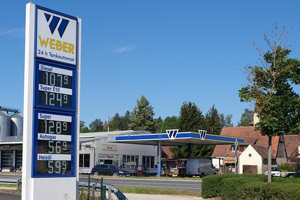 © Weber Tankstelle, Großhabersdorf